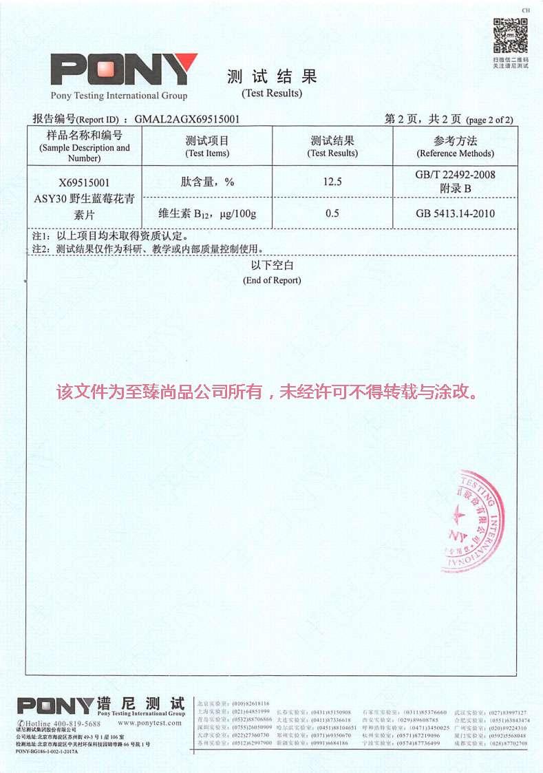 至臻尚品野生藍莓花青素片AYS30檢測報告07.jpg