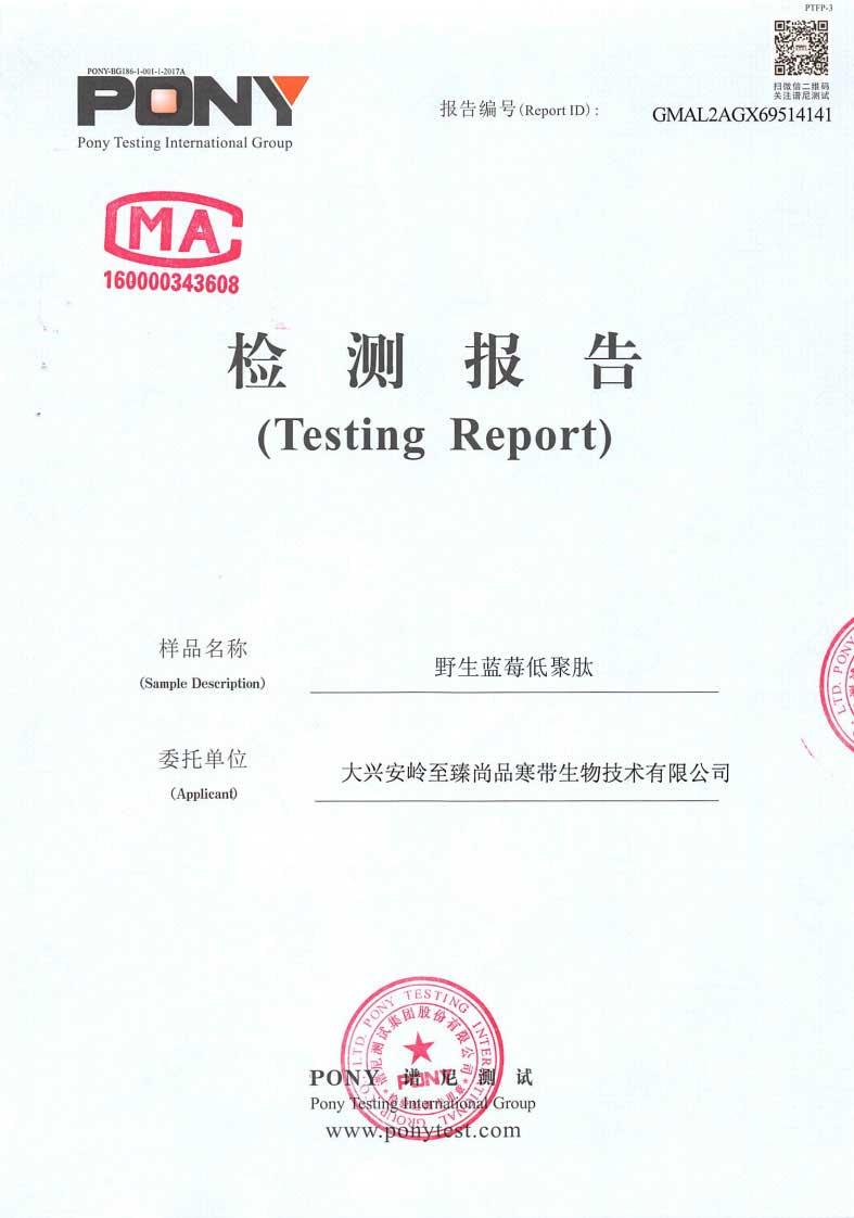 M-木糖醇藍莓低聚肽固體飲料2018檢測報告01.jpg